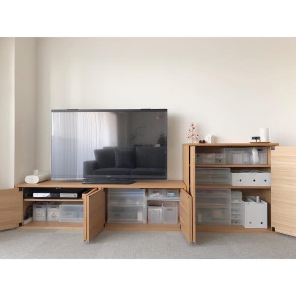 無印良品 ナチュラルインテリア テレビボード2