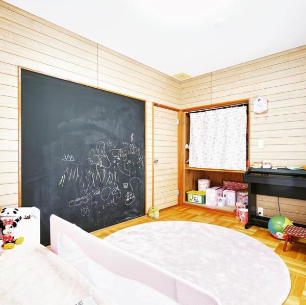 子供部屋 チョークボード