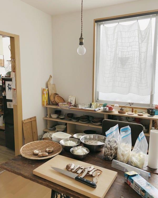 キッチンが主役。お料理上手さんの素敵なインテリア6