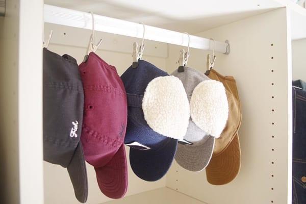 MAWAハンガー クリップ 帽子収納