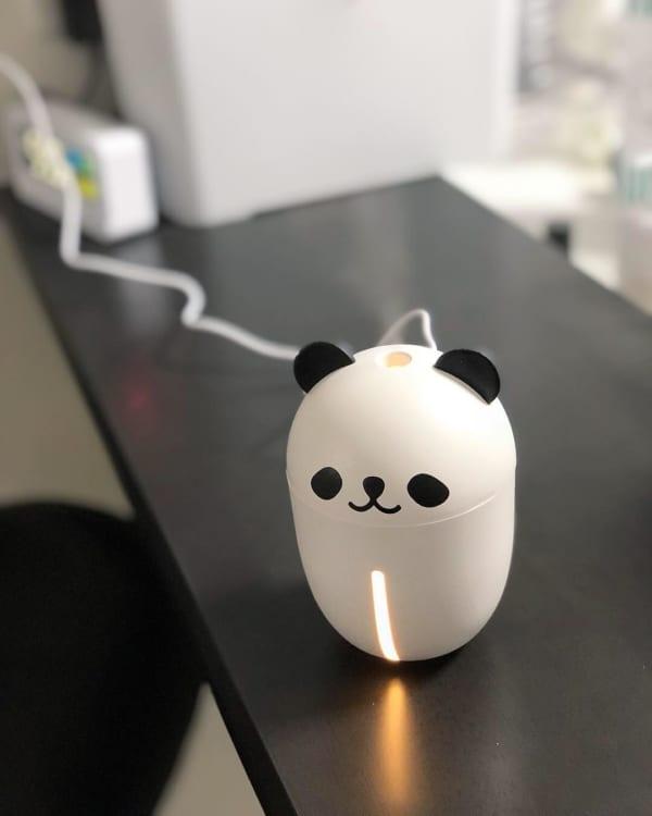 パンダのミニ加湿器:ダイソー
