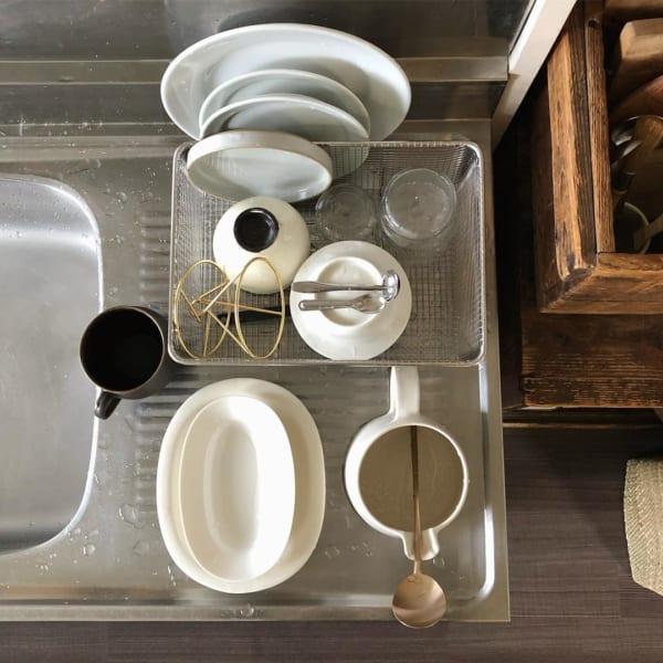 古道具好きさんの素敵なキッチン:古いアパートをリノベーション9