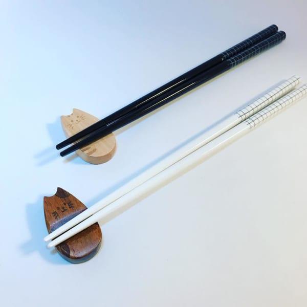 セリア 木製箸置き
