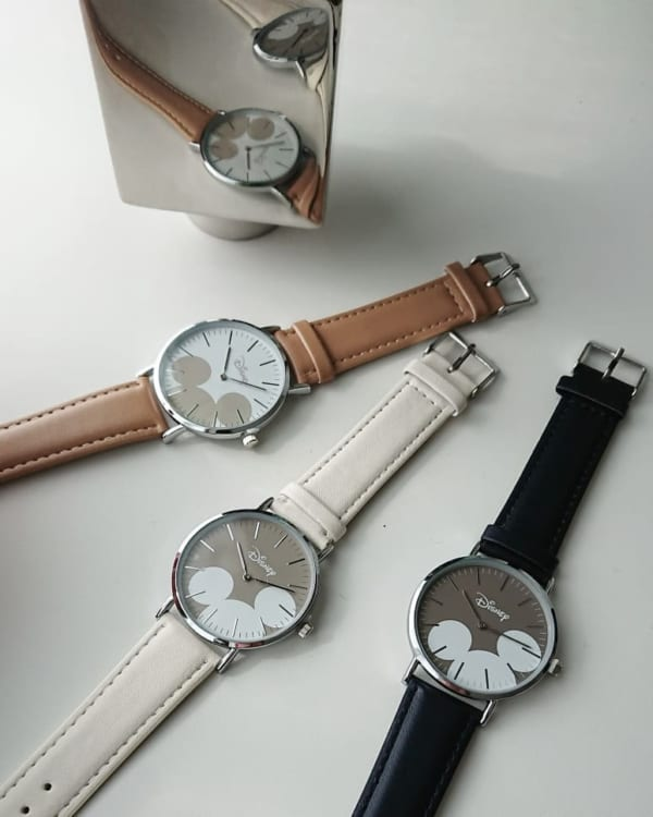 ミッキーの腕時計