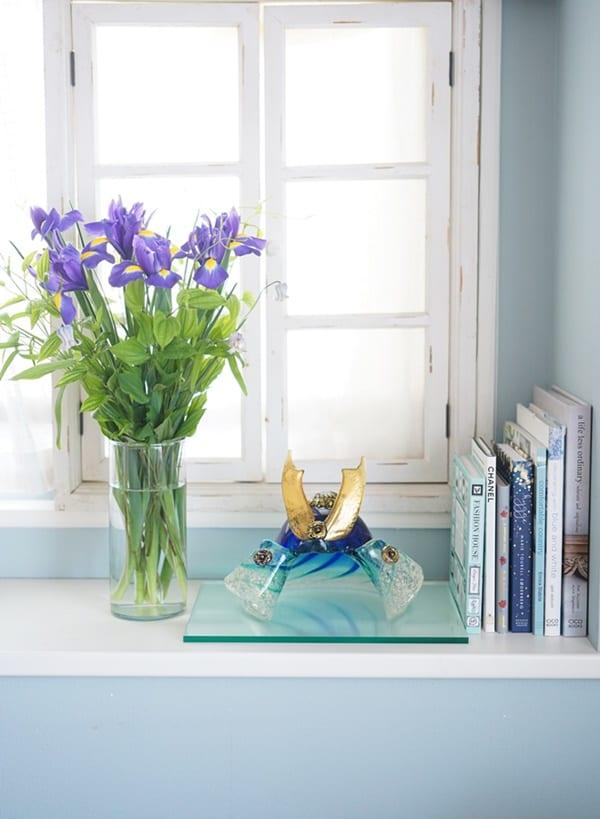 端午の節句 花飾り2