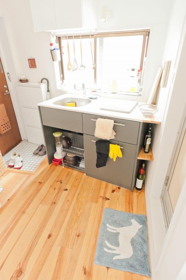 ワンルームのキッチンインテリア2