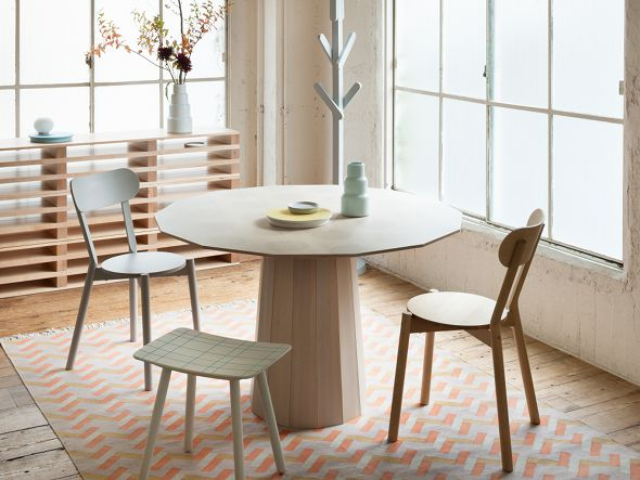 テーブル COLOUR WOOD DINING 120