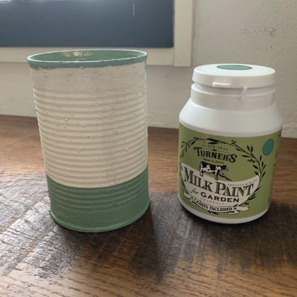 セリアでお洒落なリメ缶DIY5