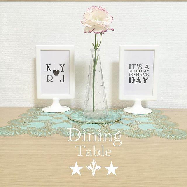 造花 ダイニングテーブル