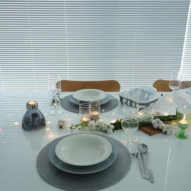 旦那さまや彼氏とのお誕生日ディナーにおすすめのテーブルコーディネート