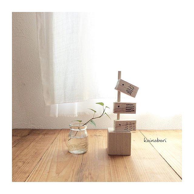 こいのぼり 木材