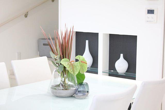 ダイニングテーブル カフェ風5
