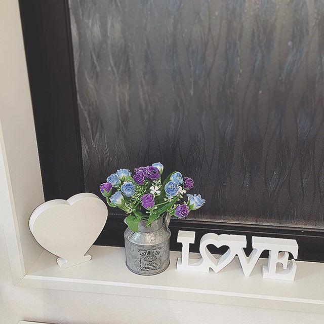 造花インテリア 窓