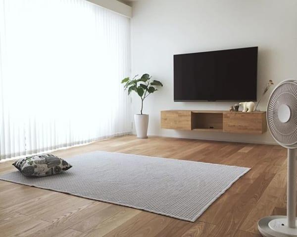 みんなはどうしてる?テレビをスマートにお部屋になじませる方法20選8