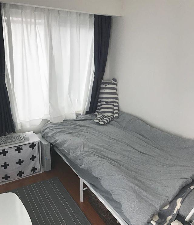 ニトリ デニム地のカーテン