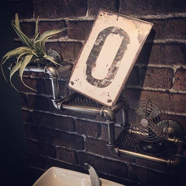 一人暮らしインテリア 洗面所15