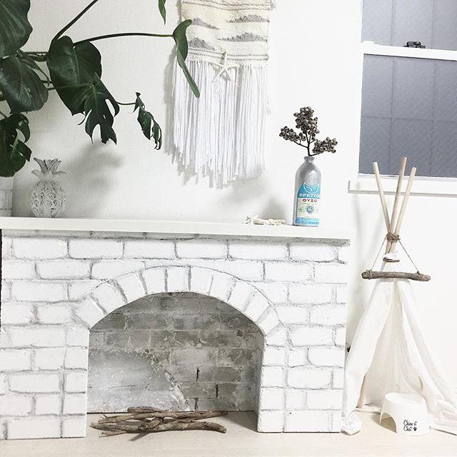 発泡スチロール 暖炉