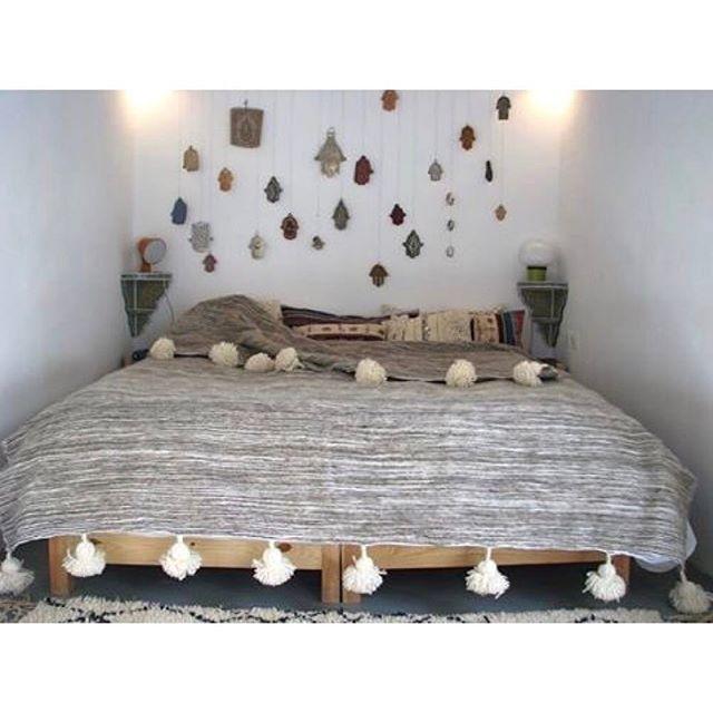 ベッドカバー 模様替え3