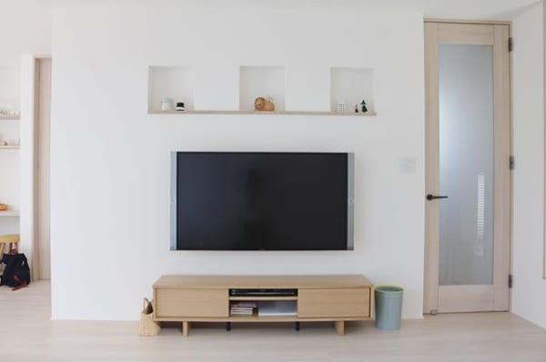 みんなはどうしてる?テレビをスマートにお部屋になじませる方法20選4