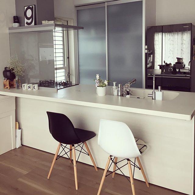 キッチンカウンターの使い方アイデア2