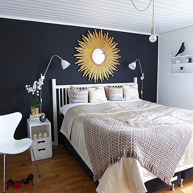 寝室実例 ミラー
