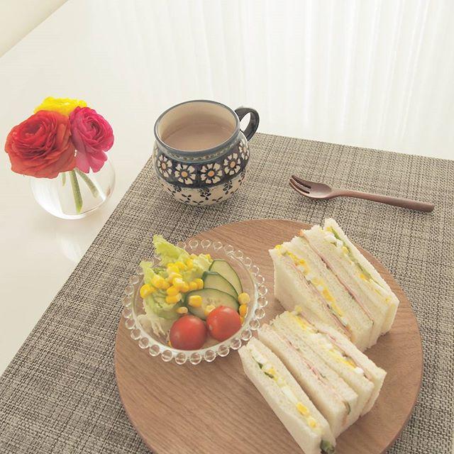サンドイッチの盛り付け方アイデア6