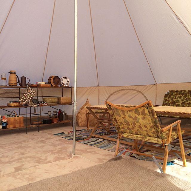 布製のアイテムでキャンプにぬくもりを3