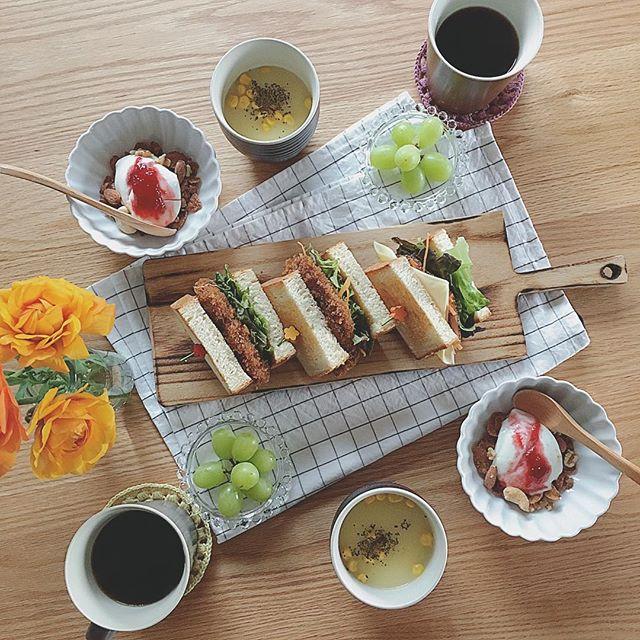 サンドイッチの盛り付け方アイデア15