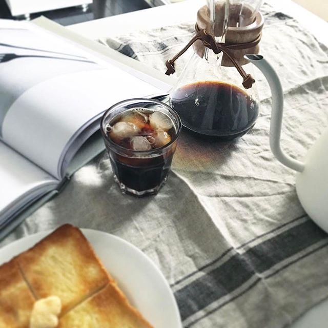 コーヒー 朝ごはん