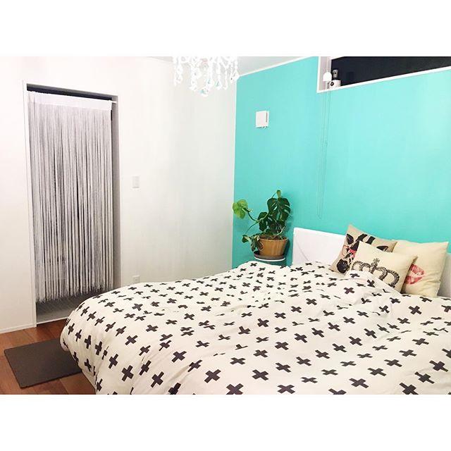 リゾートを感じる寝室2
