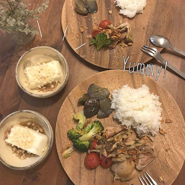 簡単に美味しい揚げ出し豆腐風