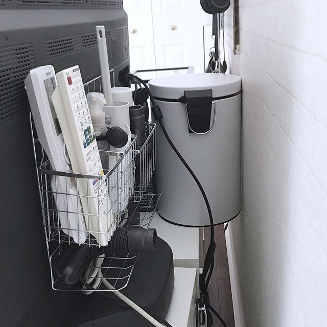 テレビボード・リビングクローゼットの収納アイデア9
