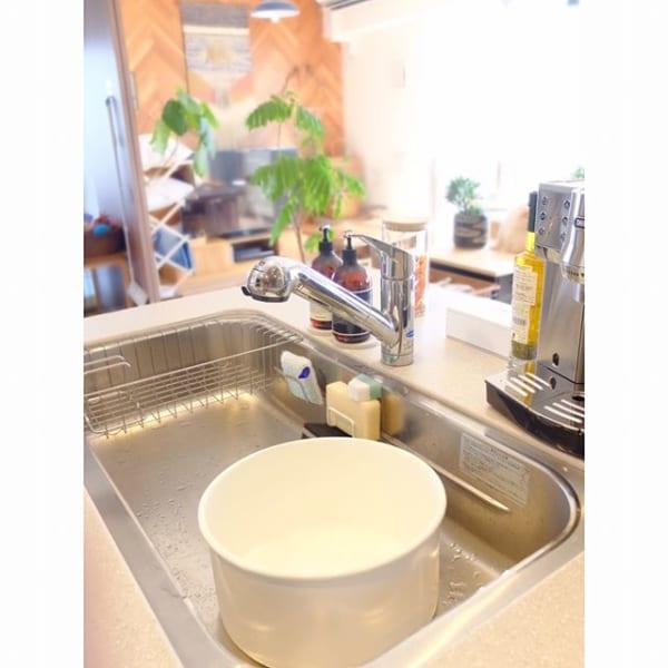 つけ置き洗いは汚れがするりと落ちやすい