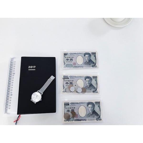 【無印】EVAケース×千円札