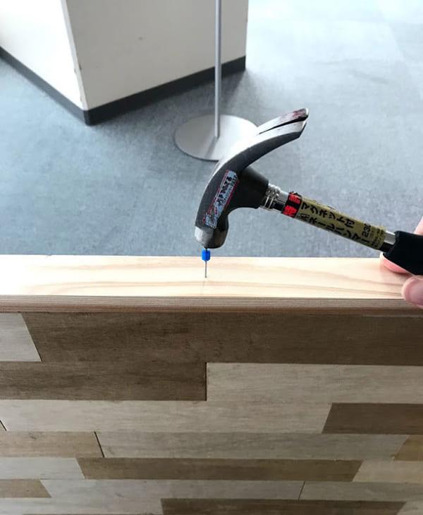 フェリシモ女子DIY部 へリンボーン柄天板キットをヘリンボーンじゃない天板にしてみた8