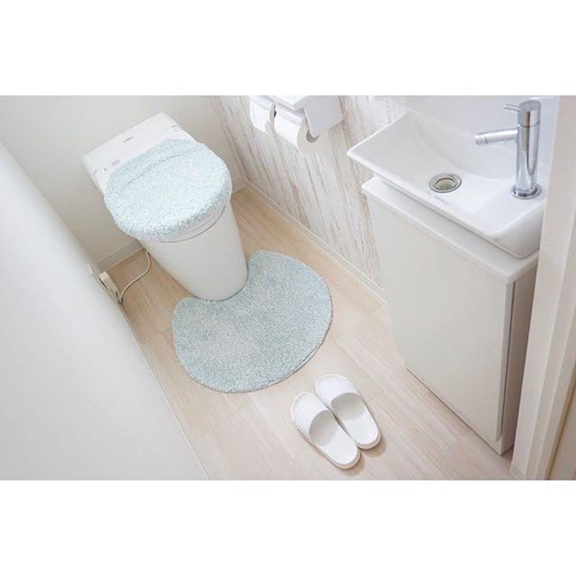 ニトリ トイレ パステルカラー