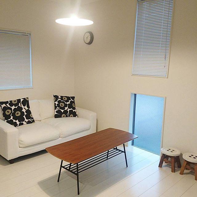 ソファも部屋のインテリアの一つとして色を合わせる
