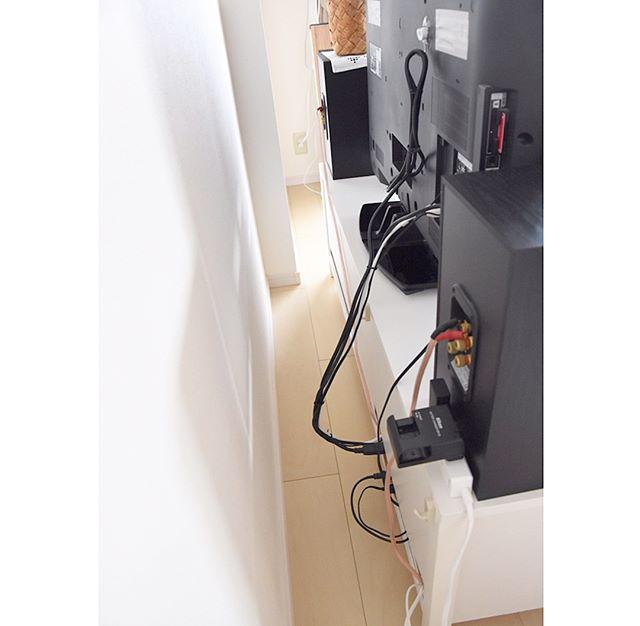 テレビボード・リビングクローゼットの収納アイデア7
