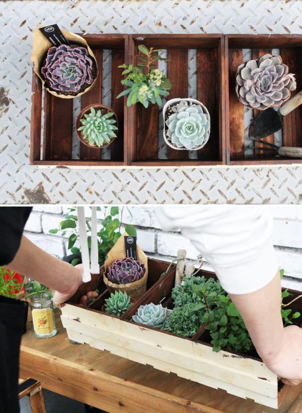 ガーデンボックス DIY8