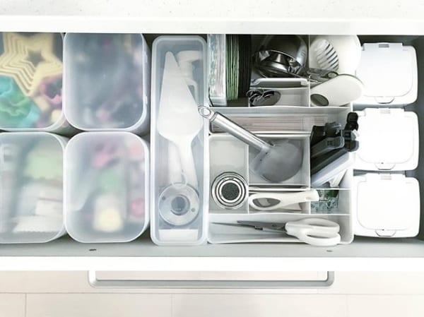 細かなキッチンツールを整理したい派に4