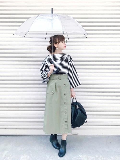 [三京商会] カントリー風 サイドゴアレインブーツ