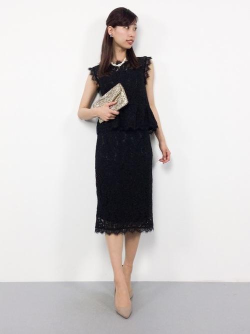 パーフェクトレースセットアップドレス【結婚式・お呼ばれ・オケージョン・フォーマル対応ワンピースドレス】