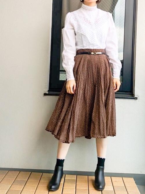 水玉スカート2