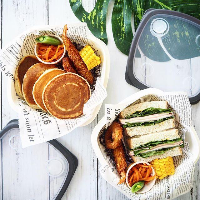 サンドイッチ&パンケーキ