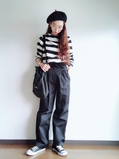 気温23度の服装 チノパンツコーデ2