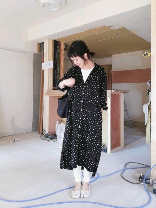 [Tabio/靴下屋] 靴下屋/ サーマル10分丈レギンスパンツ M~Lサイズ2