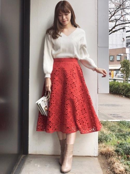 秋向け・22度の日デートの服装