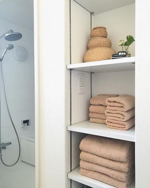 タオルを統一して