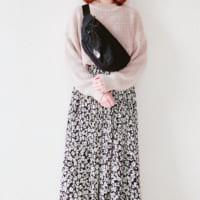 【しまむら】のロングスカートが大人可愛い♡テイスト・柄別に見る春爛漫コーデ