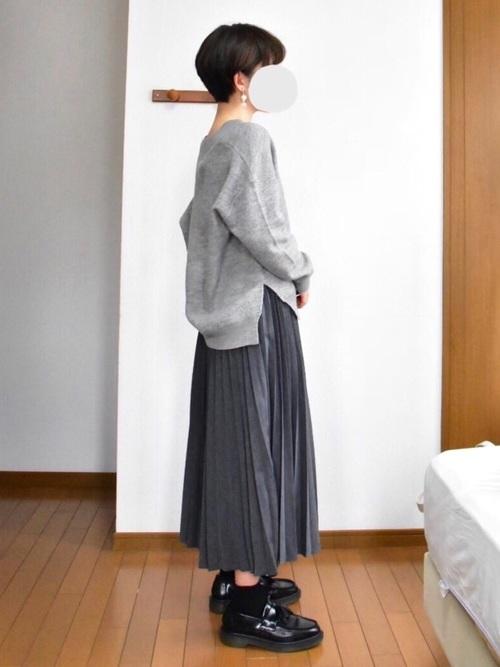 プリーツスカート2
